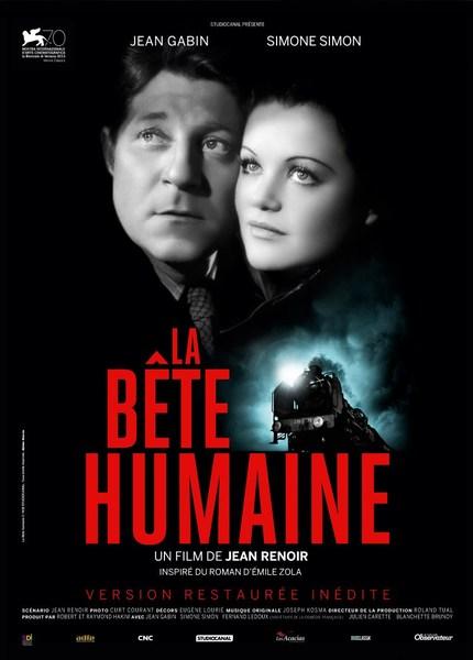 MARDI 22 DÉCEMBRE À 18H15 : LA BÊTE HUMAINE de Jean Renoir